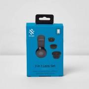 River Island Mens Swipe 3 in 1 lens smartphone set (One Size)