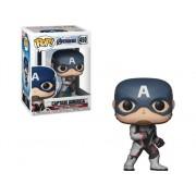 MARVEL Figura FUNKO Pop Marvel Avengers Endgame Captain America Team Suit