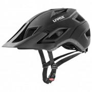 Uvex Accsess Casco per bici (52-57 cm, nero/grigio)