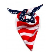 Chusta bandana. Flaga USA.