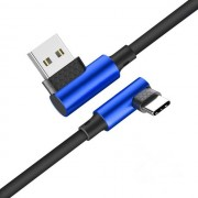 XIAOMI Bakeey 90 Degree Reversible 2.5A Type-C Fast Charging Data Cable For Samsung Xiaomi Huawei