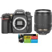 Nikon Kit Cámara Réflex NIKON D7500 18-140VR (20.9 MP - ISO: 100 a 51200 - Sensor: DX)