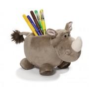 Great Gizmos Wild Friends Rhino and Giraffe Rhino Plush Figurine Quiver