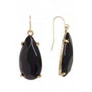 14th Union Teardrop Stone Earrings BLACK ONYX-GOLD