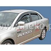 Deflektory komplet 4 ks pre TOYOTA Avensis - sedan / liftback, 2