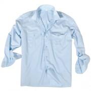 MIL-TEC® | Košile SERVIS dlouhý rukáv na knoflíky SVĚTLE MODRÁ