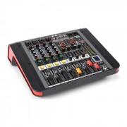 Power Dynamics PDM-M404A Mixer DJ USB 4 entrées micro processeur Multi FX