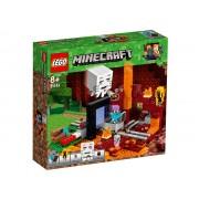 PORTALUL NETHER - LEGO (21143)