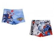 Superman badshorts badbyxor barn (Röd, 3 ÅR - 98 CM)