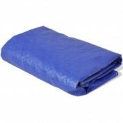 vidaXL basseinikate PE, ümar 540 cm 90 g/m²