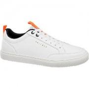 Witte sneaker vetersluiting maat 42