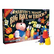 Marvin's Magic 54065 Marvin's Amazing Box 225 Magic Tricks, Special Edition – Great for Shows
