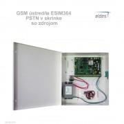 Eldes GSM ústredňa ESIM364 PSTN v skrinke so zdrojom
