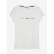 Tommy Hilfiger bianchi maglietta RN Tee SS Logo - S