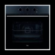 Фурна за вграждане Teka Wish HSB 610, клас А, 70 л. обем, 6 функции, вентилатор, таймер, динамична охлаждаща система, система за водно почистване, черна