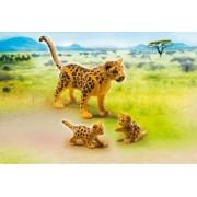 Leopard cu Pui Playmobil