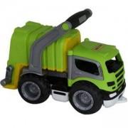 Детско боклукчийско камионче с дръжка, Polesie, 411045