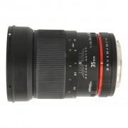 Walimex Pro 35mm 1:1.4 para Canon negro - Reacondicionado: muy bueno 30 meses de garantía Envío gratuito