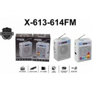 iSonix Branded FM Portable Transistor/Speaker/Radio/USB/SD MP3 Player+Display