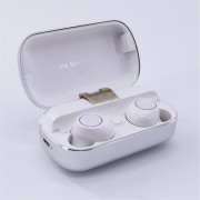 S8 Mini Sports Earphone Wireless Stereo Earbud Bluetooth 5.0 Headset with Charging Box - White