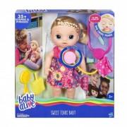 Papusa Baby Alive Sweet Tears Baby Blonde (limba italiana) C0957