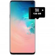 Samsung Galaxy S10 128GB Versión Exynos 9820-Blanco + REGALO Memoria SD de 128GB
