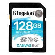 Kingston SDXC Canvas Go 90R/45W CL10 U3 V30, 128GB