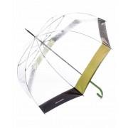 Pierre Cardin Paraguas largo automático Transparente
