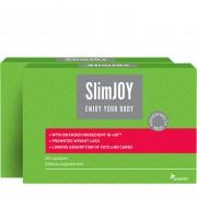 Sensilab SlimJOY Kapseln Zweierpackung Abnehmpillen Helfen Fett und Zucker aus der Nahrung zu blocken 2-monatige Kur 2x 60 Kapseln Sensilab
