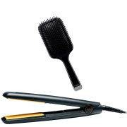 ghd IV Styler and Paddle Brush - Brittisk stickkontakt