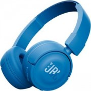 Блутут слушалки JBL T450BT, Син, Bluetooth, JBL-T450BT-BLU