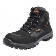 EMMA EVERON Veiligheidsschoenen Hoge Werkschoenen S3 - Zwart/Grijs - Size: 44