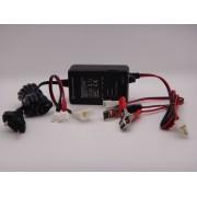 Incarcator 12V, 1Ah, 220V pentru acumulatori plumb VRLA, GEL, AGM, Abasco Poland