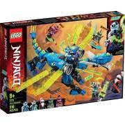 Lego set de construcción lego ninjago ciberdragón de jay 71711