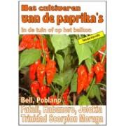 Bruno Del Medico Het cultiveren van de paprika's in de tuin of op het balkon