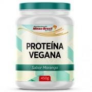 Proteina Vegana Sabor Morango 450 G Manipuladas