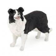 Figurina Papo Collie alb cu negru