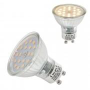 [lux.pro]® Bombilla LED Spotlight GU10 5W Spotlight 450LM blanco cálido 3000K foco empotrable SMD bajo consumo