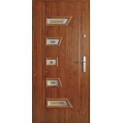 Drzwi stalowe z przeszkleniem MADAGASKAR II