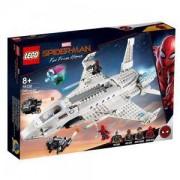 Конструктор Лего Супер Хироу - Stark Jet и нападение с дрон, LEGO DC Comics Super Heroes, 76130