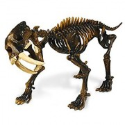 Geoworld Prehistoric Icebergs Sabre Tooth Tiger Skeleton Assembly Set