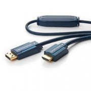 Clicktronic Cavo DisplayPort HDMI M/M 5m Alta Qualità
