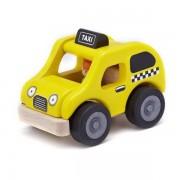 Wonderworld® Petite voitures en bois Yellow Cab - Jouets en bois