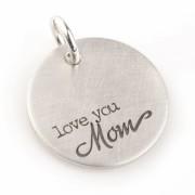 Love You, Mom - Zilveren Hangertje