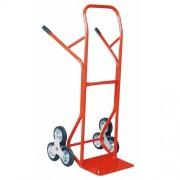 Lépcsozo áruszállító kocsi, molnárkocsi tömör kerékkel 200 kg (MAGASSÁG/SZÉLESSÉG: 1300/600 mm) 6250