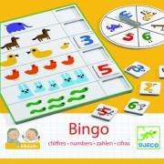 Bingo copii invaţă numere Djeco