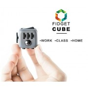 Fidget Cube Prime - Fun & Focus Toy for Children And Adults - Anxiety Attention Spinner Cubes, Perfect Gift For Adults and Childrens, Random Colors