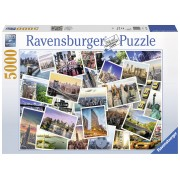 PUZZLE NEW YORK CITY , 5000 PIESE - RAVENSBURGER (RVSPA17433)