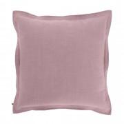 Kave Home Capa de almofada Maelina 60 x 60 cm cor-de-rosa