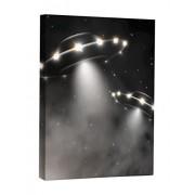 JP London CNV2426 Close Encounters Starry Night Sci-Fi Canvas Art Wall Decor, 2' x 1.5'